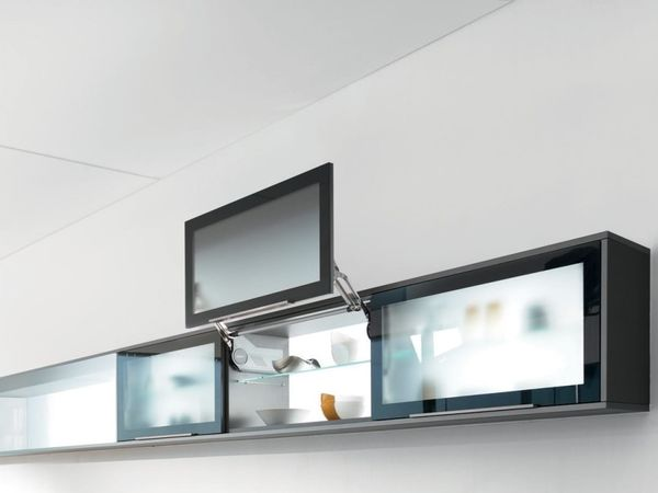 Upper cabinet under the sink Aventos HL