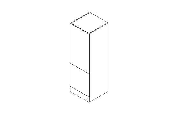 Cabinet for refrigerator/freezer