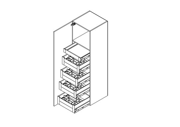 Cabinet SPACE TOWER TANDEMBOX