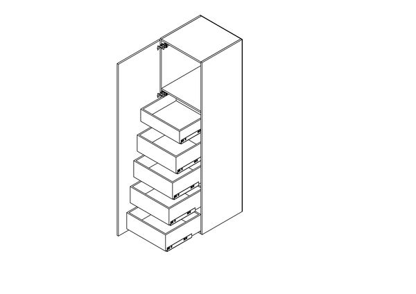 Cabinet SPACE TOWER TANDEM