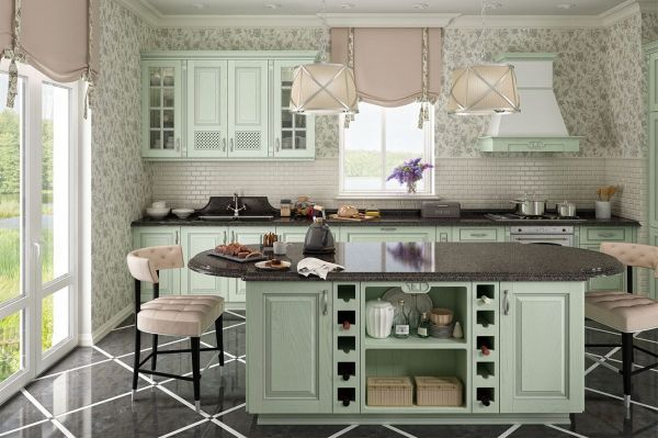 Linear kitchen newK02
