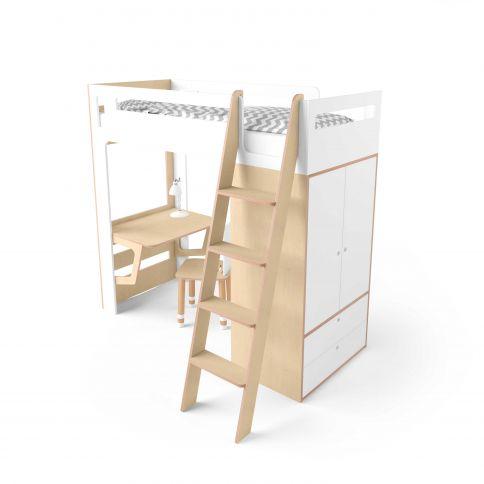 Parvi-sänky Smart Cube valkoinen