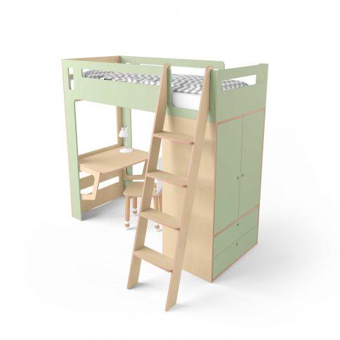 Parvi-sänky Smart Cube vihreä