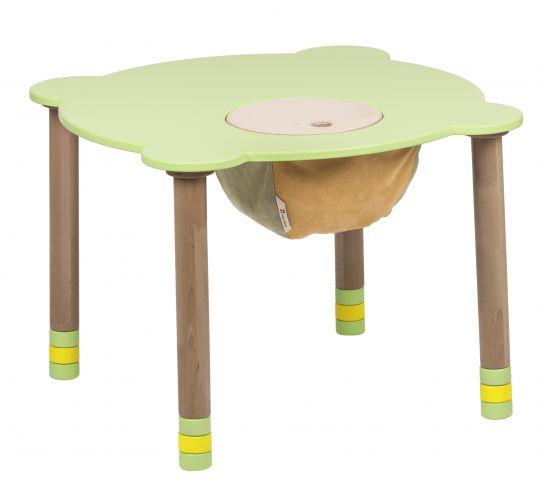 Pyöreä pöytä vihreä