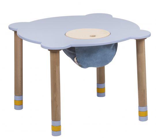 Pyöreä indigopöytä
