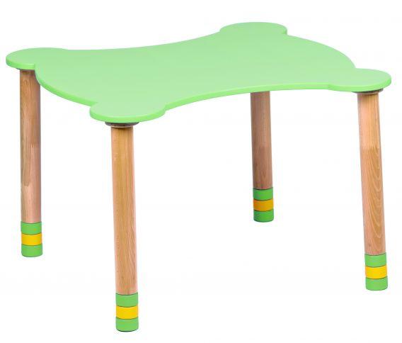 Kihara vihreä pöytä