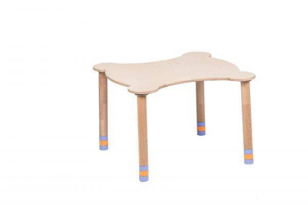 Kihara pöytä indigo / luonnonpuu