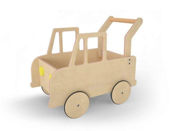 Lasten auto BipBip luonnonpuusta