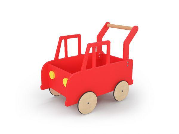 Lasten auto BipBip punainen