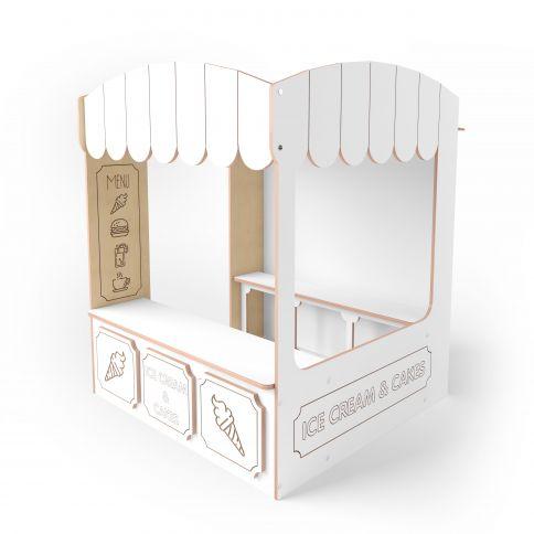 Playhouse Cafe valkoinen