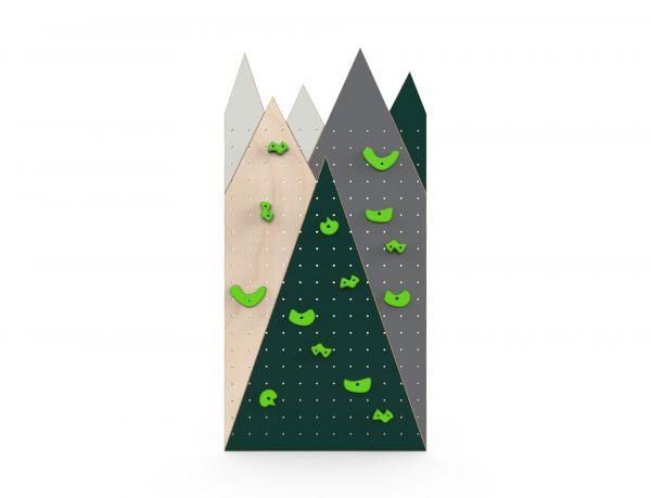 Lasten kiipeilyseinä Vuoret