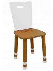 Lasten tuoli säädettävä Royal valkoinen