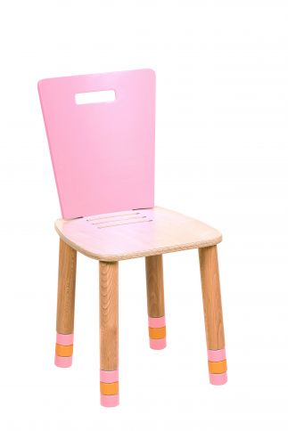 Lasten tuoli säädettävä Royal vaaleanpunainen