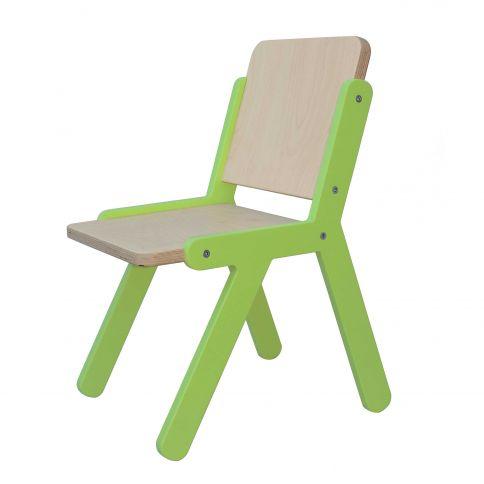 Lasten tuoli Lines 2 vihreä