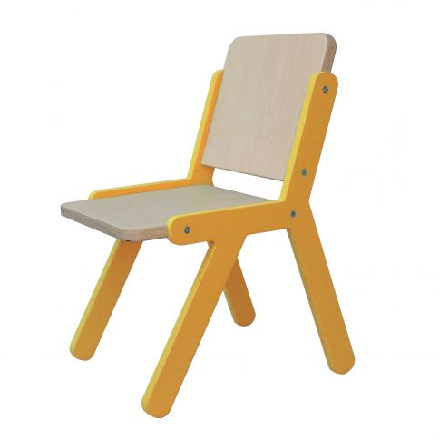 Lasten tuoli Lines 2 oranssi