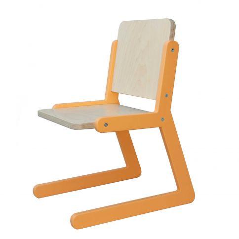 Lasten tuoli Lines 1 oranssi