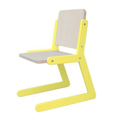 Lasten tuoli Lines 1 keltainen
