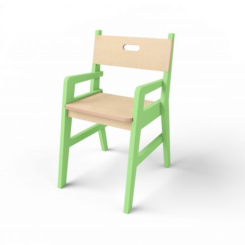 Lasten tuoli Middle 2 vihreä