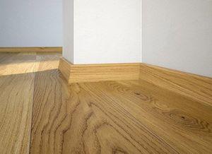 Floor plinth P20 oak