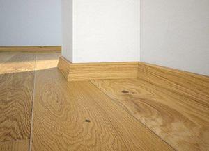 Floor plinth P20 oak Oiled