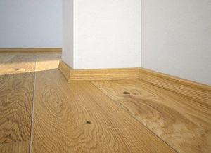 Floor plinth P10 oak Oiled