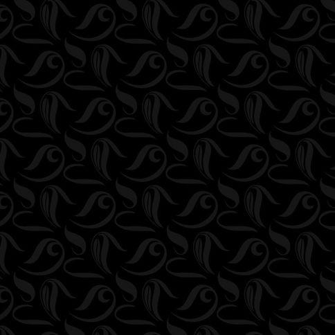 MDF panel Polygloss / Flower U1200F Black NIEMANN (2655х1030х18)
