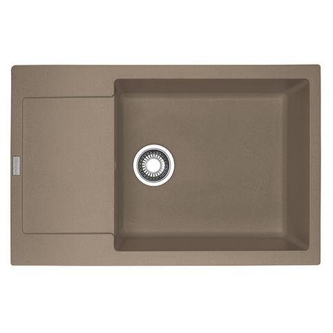 Sink with siphon granite MRG 611-78 XL Almonds Franke (114.0374.916)