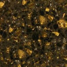 Acrylic sheet Staron Tempest Gold Leaf FG196 3680х760х12