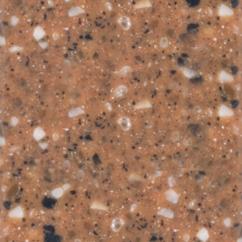 Acrylic sheet Tristone Romantic F-107 Copper Mountain 3680х760х12