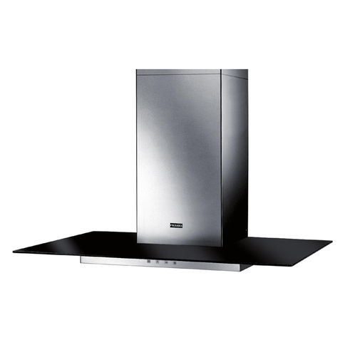 Hoods FGL 6015 BK / XS stainless steel / black glass 600mm. Franke (110.0152.539)